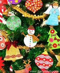 How To Make A Miniature Christmas Tree Ornament  Christmas Crafts Christmas Tree Ornaments Crafts