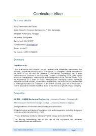 Professional Mechanical Engineering Resume Examples Engineer