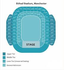 Etihad Stadium Manchester Seating Chart Take That Etihad Stadium Tickets Take That At Etihad