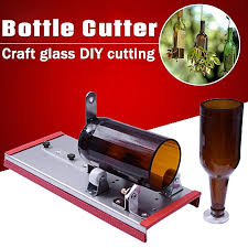 glass wine bottle cutter cutting machine beer jar diy kit craft recycle tool red
