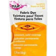Tulip Fabric Dye Color Chart Tulip Fabric Dye Sunshine