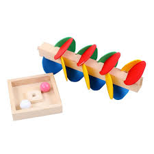 ball drop toy. cute montessori kids wooden tree marble ball drop track funny toys for children educational intelligence blocks game gifts kindergarten learning toy
