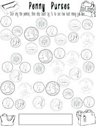 Play Money Sheets Money Coloring Sheets Printable Play Money Sheets