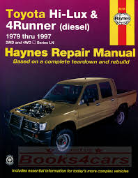 Toyota HiLux Manuals at Books4Cars.com