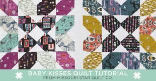 New Friday Tutorial: The Baby Kisses Quilt & Click on the button to watch the tutorial and print out a list of all the  supplies you need to make your own adorable Baby Kisses Quilt! Adamdwight.com