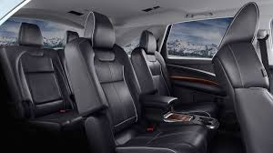 three spacious rows of seats in the 2017 mdx means everyone can come
