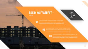 Pptx Themes Keystone Construction Powerpoint Template In 2019