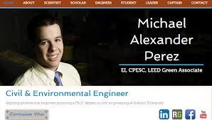 michael perez civil engineering michael perez civil engineering eportfolio exles source make up artist biography