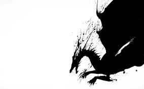 Black White Dragon Wallpaper ...