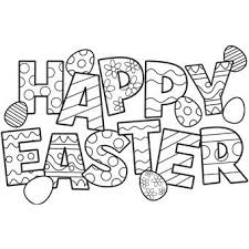 Small Picture Free Easter Coloring Pages Cute Happy Easter Coloring Pages