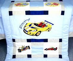 car crib bedding set beautiful race themed vintage baby sets