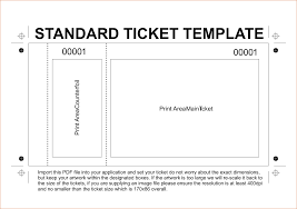 doc 500231 tickets template 10 ideas about ticket doc500231 event ticket template printable tickets template