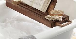 oil rubbed bronze bathtub caddy ideas