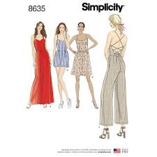 Women's Romper Pattern Simple Simplicity Pattern 48 Misses' Dress Jumpsuit And Romper