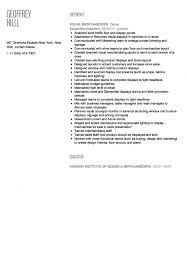 Sample Resume For Merchandiser Job Description Visual Merchandiser Resume Sample Velvet Jobs Garment Seven Sevte 81