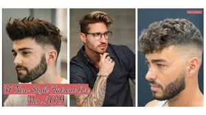 37 New Style Haircut For Men 2019 Fashionealcom