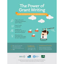 How To Write Flyers Power Of Grant Writing Flyer Click Design Base