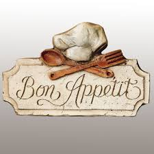 bon appetit kitchen wall plaque touch to zoom