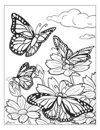 Who is not amazed by the tranquility that each of their flights reverberates? Butterfly Coloring Pages And Other Free Printable Coloring Page Themes