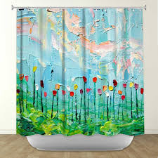 Artistic shower curtains Aqua Blue Items Similar To Artistic Shower Curtains By Dianoche Designs Stories From Field Act Lxxxi On Nnttplayinfo Items Similar To Artistic Shower Curtains By Dianoche Designs