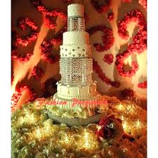 crystal chandelier cupcake stand wedding acrylic cake with crystals beads
