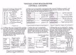 quality car alarm remotes siren shock sensor central lock kit g11 installation diagram for central locking