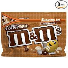 This past valentines day i decided i wanted to spice things up a bit and put coffee in the chocolate. Amazon Com M M S Coffee Nut Peanut Chocolate Candy Sharing Size Bags 9 6 Ounce Pack Of 8 Grocery Gourmet Food