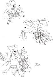Geometric Treecko Evolutions