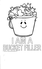 Small Picture Bucket filler coloring sheet Bucket Fillers Pinterest