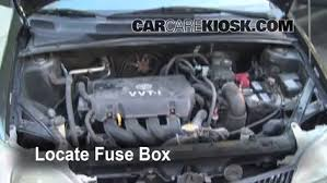 replace a fuse 2000 2005 toyota echo 2001 toyota echo 1 5l 4 replace a fuse 2000 2005 toyota echo 2001 toyota echo 1 5l 4 cyl 4 door