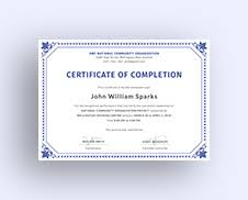 free training completion certificate templates free training completion certificate template in adobe photoshop