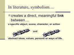 symbolism  4 in literature symbolism