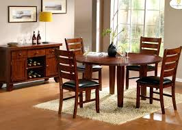 dark oak dining room sets drop leaf round dining table in dark oak beyond s dark