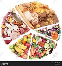 balanced form food balanced diet form circle image photo bigstock