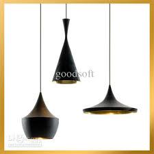 beat light tall fat wide 3 lamps black white aluminum pendant lamp chandelier plug in hanging lamp designer pendant lights from goodsoft 49 13 dhgate