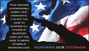 honoring our veterans ecard card