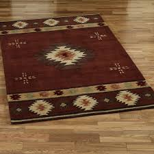 cool southwestern style rugs alluring southwest area maroon solid color aztec tribal pattern beige brown and