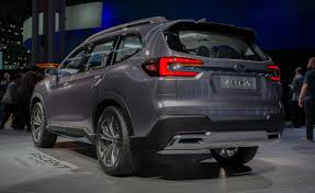 2018 subaru ascent photos. exellent 2018 2018 subaru outback and ascent concept video first look   autoguidecom news on subaru ascent photos