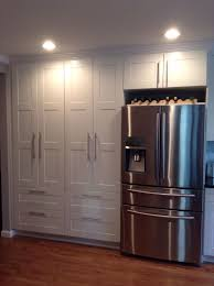 kitchen pantry furniture french windows ikea pantry. Double White Ikea Pantry. Samsung Stainless Steel French Door Refrigerator With Dual Zone Drawer. Kitchen Pantry Furniture Windows T