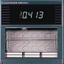 Chessell Chart Recorder 4102m 100mm Strip Chart Recorder