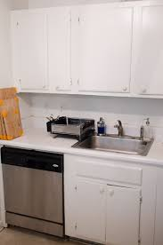 Kitchen Make Over Inexpensive Rental Kitchen Makeover Thou Swell
