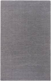 details about surya grey 8 round hand made casual contemporary wool area rug approx 8 x 8
