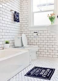 bathroom subway tile floor. Look I39m Loving Subway Tile Bathroom Floor T