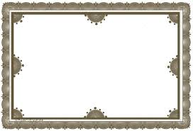 Certificate Border Word Magnificent Certificate Paper Template Lcysne