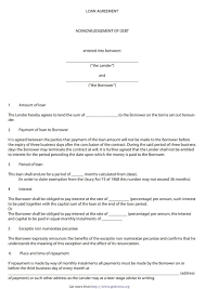 Secure your money with our free loan agreement templates! 40 Free Loan Agreement Templates Word Pdf ᐅ Templatelab