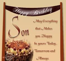Birthday Wishes For Son   Birthday Ideas via Relatably.com