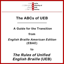 Ebae Braille Chart Welcome To Ueb Resources For Learning The New Braille Code