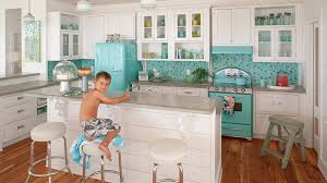 kitchen the colors of sea glass
