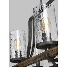 swimming pool farmhouse lighting fixtures. Industrial Farmhouse Lighting. Wavy Glass Island Chandelier - 8 Light Slate_gray_metal Lighting A Swimming Pool Fixtures G