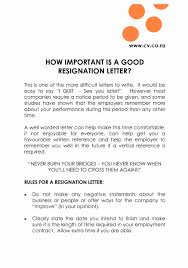 Why Notice Period Is Important Simple Resignation Letters With Notice Period New Examples Of 16